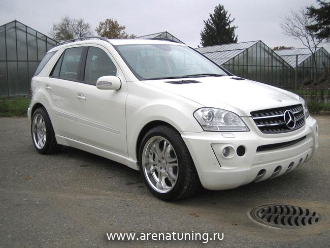 Тюнинг Mersedes-Benz ML164
